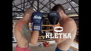 Правильная работа на лапах в боксе —Урок 1. Объясняет Андрей Басынин и Дмитрий Киселев