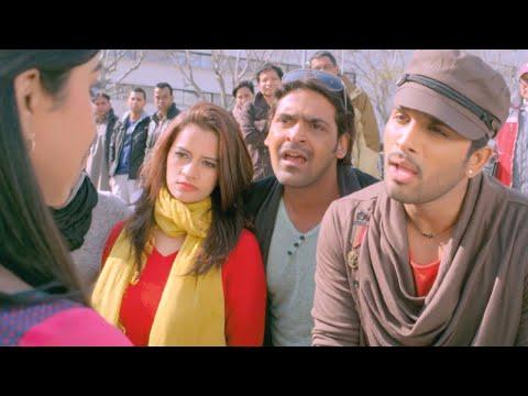 Romeo and Juliet Malayalam Movie l Allu arjun meets amala paul l Mazhavil Manorama