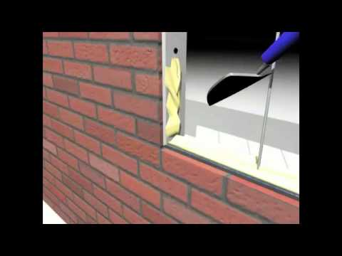 Glassblocks   009   Glass Block Instructional Clip   Rods & Mortar