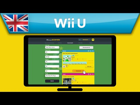 Super Mario Maker - Bookmark Web Portal Video (Wii U)