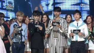 150625 Junior & BamBam (GOT7) MC Cut @ M! Countdown (CUT 3)