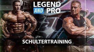 Legend & Pro | SCHULTERTRAINING mit Thomas Scheu und Tim Budesheim
