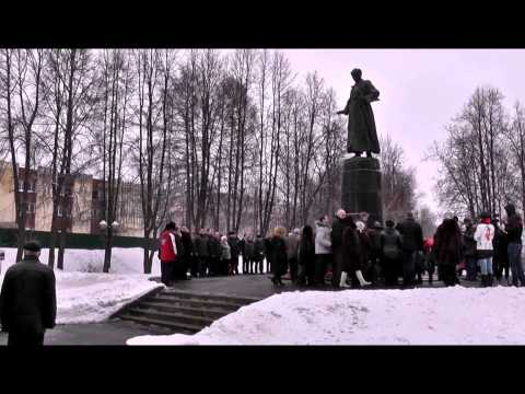 Иваново. М,В.Фрунзе 130 лет. 2.02. 2015 года.