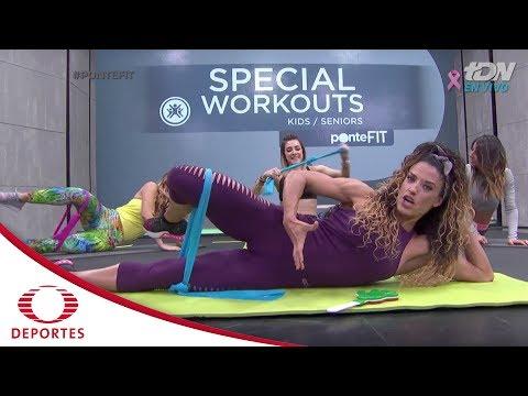 Rutina Fit: Ejercicios para mujeres embarazadas   Ponte Fit   Televisa Deportes