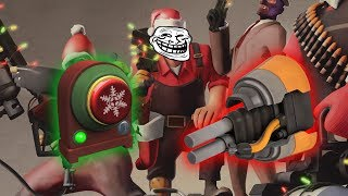 tf2 how to be annoying with the short circuit and noise maker