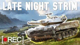 Laponac strimuje - WoT 🔴 Late night strim