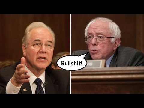 "Bernie Sanders Shuts Down Tom Price: ""We Are Not a Compassionate Society"""