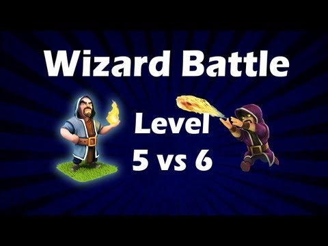 Clash Of Clans - Wizard 6 - Gameplay Video Analysis (New Update)