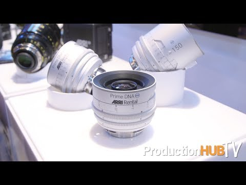 ARRI Rental talks ALEXA 65 & Prime DNA Series Lenses at Cine