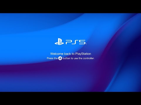 New PlayStation 5 Boot Screen Concept