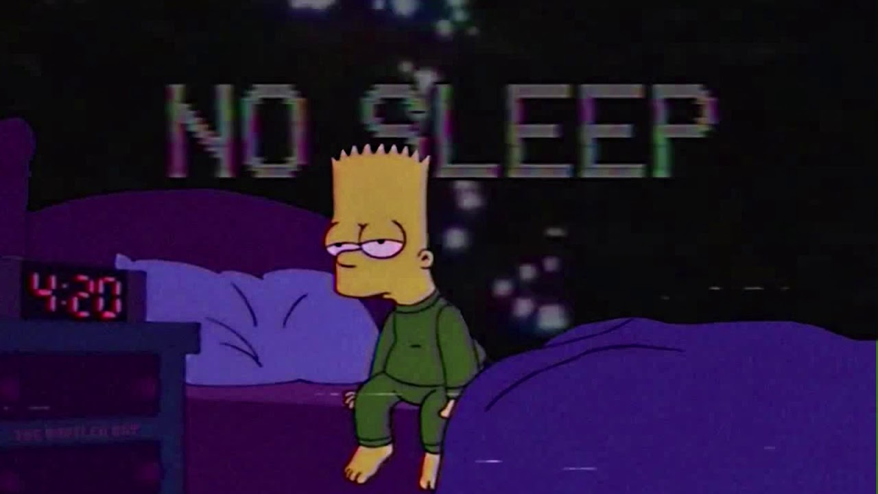 (FREE) ''NO SLEEP'' Sad LoFi Type Beat 2018 - R&B Type Beat