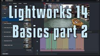 Lightworks 14 - Basics 2
