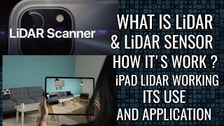WHAT IS LiDAR SCANNER  HOW ITS WORK ON MOBILE( APPLE iPAD PRO 2020)  LiDAR USE & APPLICATIONS(HINDI)