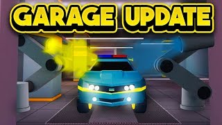 INSANE NEW GARAGE COMING TO JAILBREAK! (ROBLOX Jailbreak)