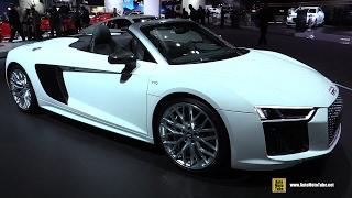 2017 Audi R8 V10 Spyder - Exterior and Interior Walkaround - 2016 LA Auto Show