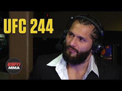 Jorge Masvidal wanted to finish his 'masterpiece' vs. Nate Diaz   UFC 244   ESPN MMA