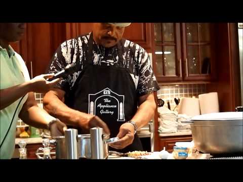 Cooking demonstration - Local Cayman Islands Stew Beef