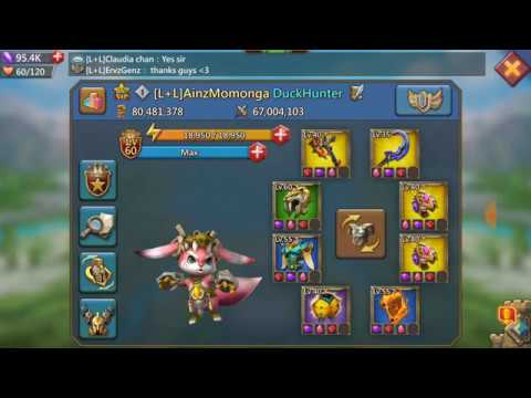Updated Account Overview! Lords Mobile F2p Trap.