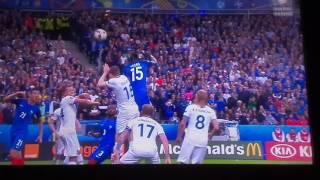 France 5-2 Iceland Skrót meczu, wszystkie bramki ALL GOALS AND HIGHLIGHTS (EURO 2016)