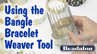 Using the Bangle Bracelet Weaver Tool - By Kleshna