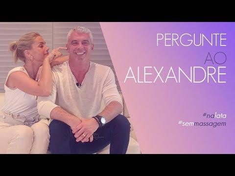 PERGUNTE AO ALEXANDRE  ANA HICKMANN