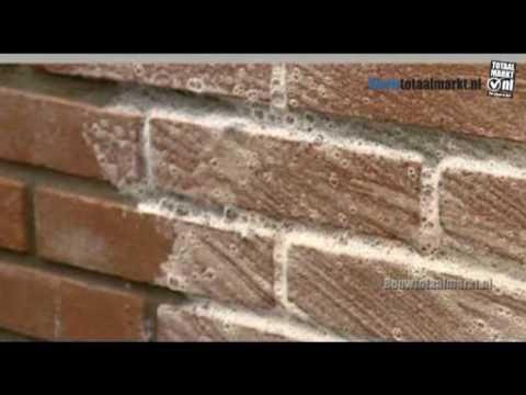 Fabulous Metzger Reinigen gevel verwijderen kalk en cementsluier KD65