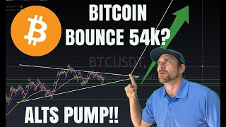 BITCOIN IS THIS A BULL PENNANT?  ETHEREUM AND ALTS KEEP PUMPING! CRYPTOCURRENCY MARKET ANALYSIS LIVE
