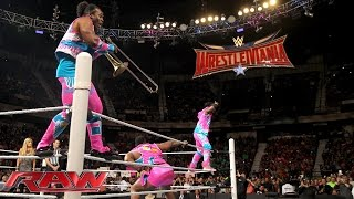 The New Day toot their own horn before facing Roman Reigns & Dean Ambrose: Raw, February 1, 2016
