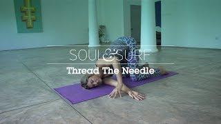 YOGA   Thread the Needle