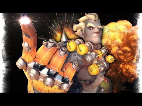 Precision of 2000 HOUR JUNKRAT..!!   Overwatch Best and Funny Moments - Ep.93