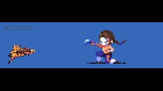 Pixel Art Demo : Young Vega from Street Fighter (360/365)