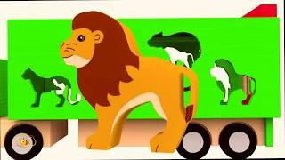 Мультики про животных  Мультики для малышей  Песенки  Животные  cartoons  songs  teach animals