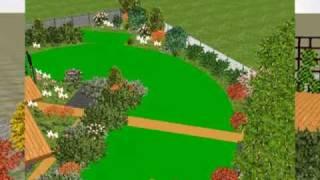 3D Ландшафтный проект садового участка