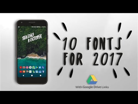 Top 10 Free New FONTS