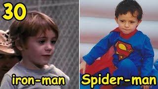 30 นักแสดง Avengers Endgame ตอนเด็ก แต่ละคนจะดูเป็นอย่างไร