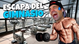ESCAPE FROM THE GYM ? Roblox Spanish Escape the Gym