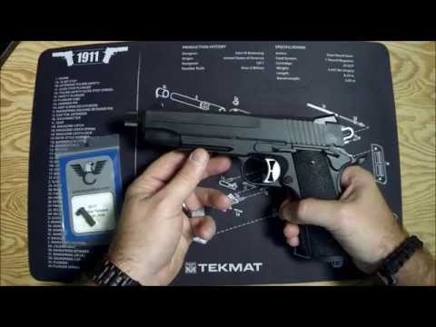Installing a Wilson Combat Tactical (Extended) Magazine Catch on a Sig Sauer 1911 Tac Ops