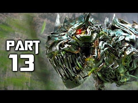 Transformers Rise of the Dark Spark Walkthrough Gameplay Part 13 - Dino Crisis (PS4)