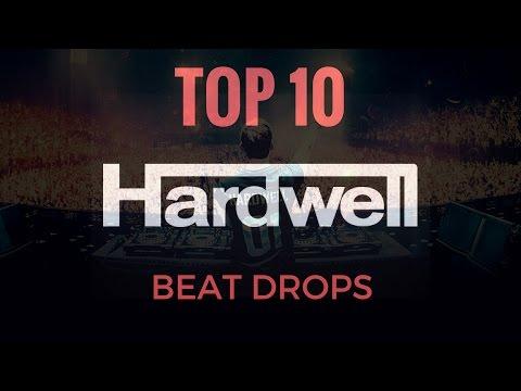 TOP 10 Best Beat Drops | HARDWELL