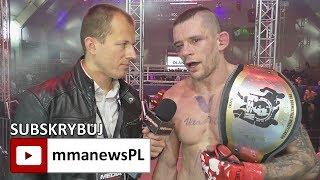 GSW 9: Adam Brzezowski jednogłośnie zdobył pas