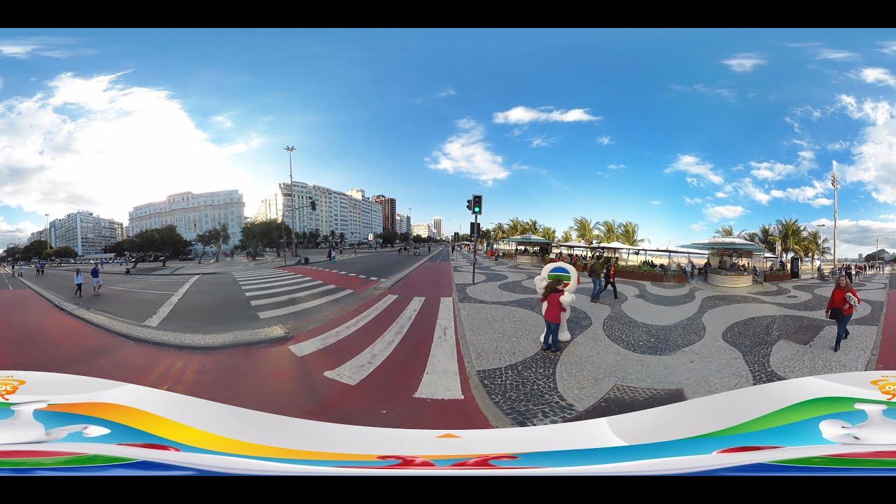 里約奧運2016 - 科帕卡瓦納 (Copacabana) [360 video] (TVB) - YouTube