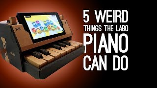 Nintendo Labo: 5 Weird Things You Can Do With the Labo Piano