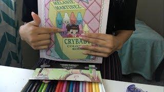 Melanie Martinez Cry Baby Coloring Book Asmr Youtube