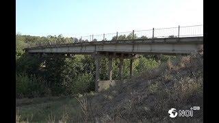Заброшенный мост через реку Бык. Варница - Гура - Быкулуй.