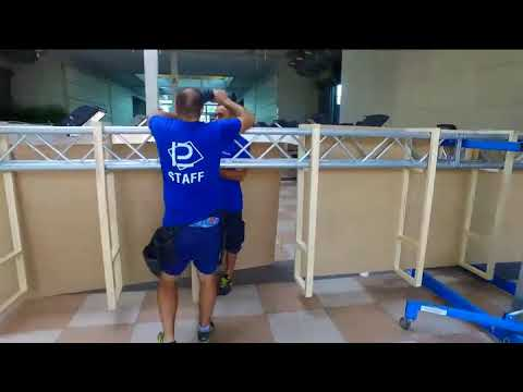 Tecnoferrari  a Tecnargilla Rimini 2018 - timelapse video Tecnoferrari