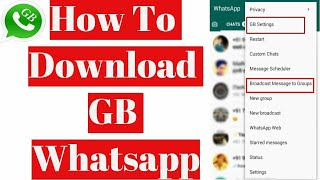 Download lagu How to download GB WhatsApp