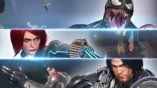 Marvel vs. Capcom: Infinite - Winter Soldier, Black Widow, and Venom Gameplay Trailer