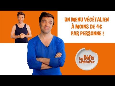 Menu végétalien à 4 € par personne - Défis à Petits Prix