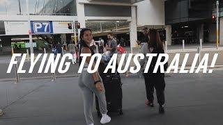 FLYING TO AUSTRALIA! | Katya Elise Henry