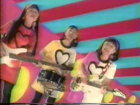 SHONEN KNIFE * Riding On The Rocket * OFFICIAL VIDEO